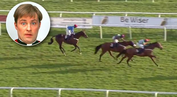 Lookslikerainted should have won the 4.45 at Newbury today