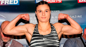 On paper, Koleva looks like Taylor's toughest opponent so far. Photo by Lawrence Lustig/Sportsfile