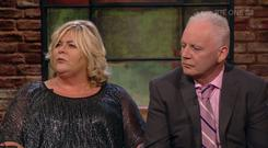 Anthony and Colette Wolfe spoke about the devastating loss of their daughter Leanne on last night's Late Late Show