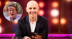 Ray D'Arcy, inset, Brendan O'Carroll as Mrs Brown