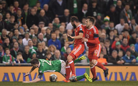 Ireland's coach unsure of Coleman timeline for recovery
