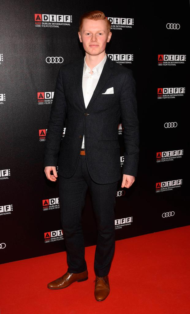 Ian Kenny at the Irish Premiere of Sing Street at The Savoy opens the 2016 Audi Dublin International Film Festival