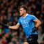 Paul Flynn of Dublin celebrates after scoring his side's first goal against Roscommon at Croke Park in Dublin. Photo by Daire Brennan/Sportsfile