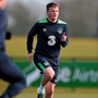 Republic of Ireland's Stephen Gleeson in action during squad training. Picture credit: David Maher / SPORTSFILE