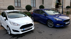 Badged up: The Focus ST offers a performance package