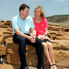 Some Mother's Day: Gerry and Kate McCann. The 10th anniversary of their little girl's disappearance is approaching Photo: Alban Donohoe/Sunday Mirror/PA Wire