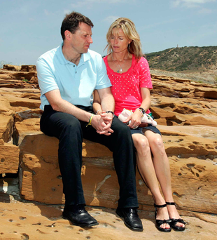 Gerry and Kate McCann. The 10th anniversary of their little girl's disappearance is approaching Photo: Alban Donohoe/Sunday Mirror/PA Wire