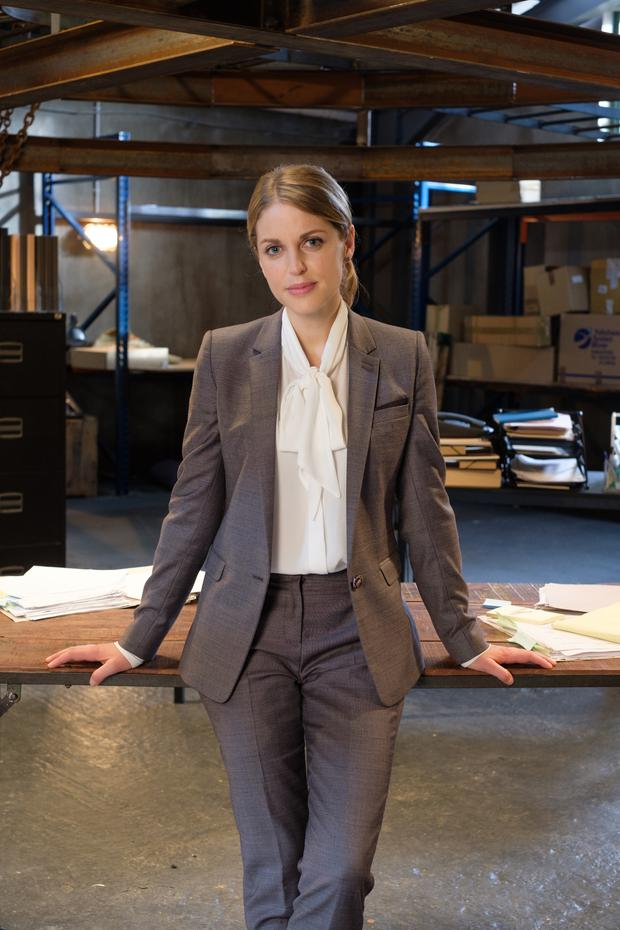 Amy Huberman as Tara in Striking Out