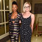 Actress Samira Wiley and Writer Lauren Morelli attends the Christian Siriano show during, New York Fashion Week: The Shows at The Plaza Hotel on February 11, 2017 in New York City. (Photo by Jamie McCarthy/Getty Images for New York Fashion Week)