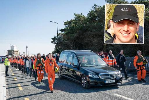 Rescue 116 crew member Mark Duffy was recovered on Sunday
