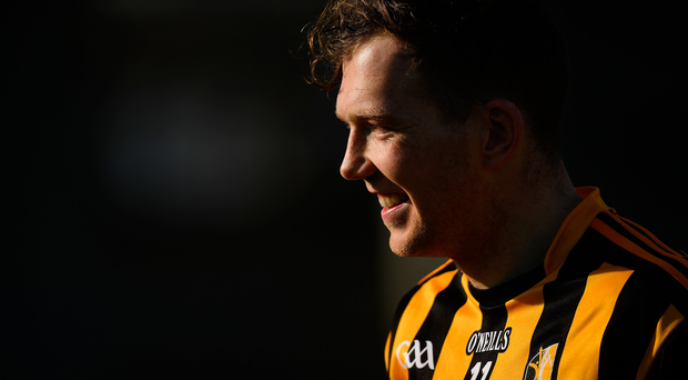 Walter Walsh of Kilkenny leaves the pitch after the Allianz Hurling League Division 1A Round 5 match between Dublin and Kilkenny at Parnell Park in Dublin. Photo by Brendan Moran/Sportsfile