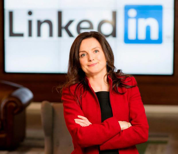Sharon McCooey, LinkedIn Ireland boss