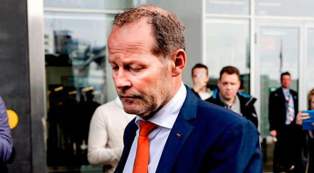 The decision to dismiss Blind from his duties was made following the Netherlands 2-0 loss to Bulgaria on Saturday. Photo: Getty Images