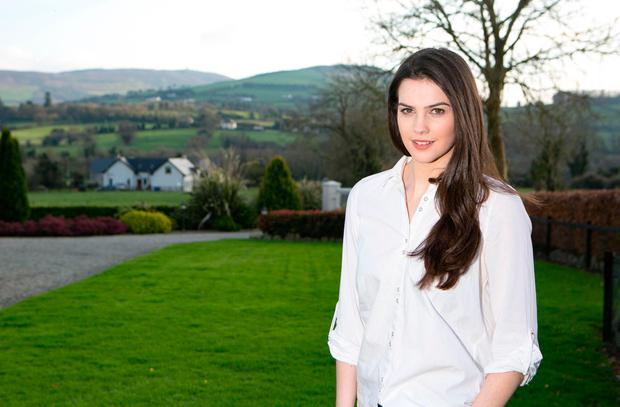 Miss Ireland Niamh Kennedy suffers from depression as a result from trying to deal with her late father's disease. Photo: Brian Gavin Press 22