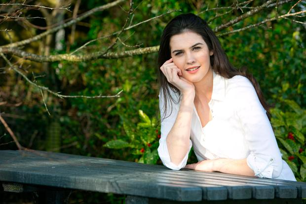 Miss Ireland Niamh Kennedy lost her dad to Alzheimer's in his early forties. Photo: Brian Gavin Press 22