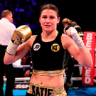 Katie Taylor misses her mother's cooking while training in the US. Photo: Sportsfile