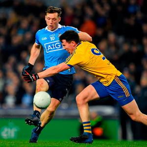 Paul Flynn was back to his blistering best for Dublin as they set a new record at Croke Park. Photo: Sportsfile