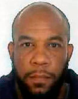 Attacker: Khalid Masood. Photo: Metropolitan Police/PA Wire