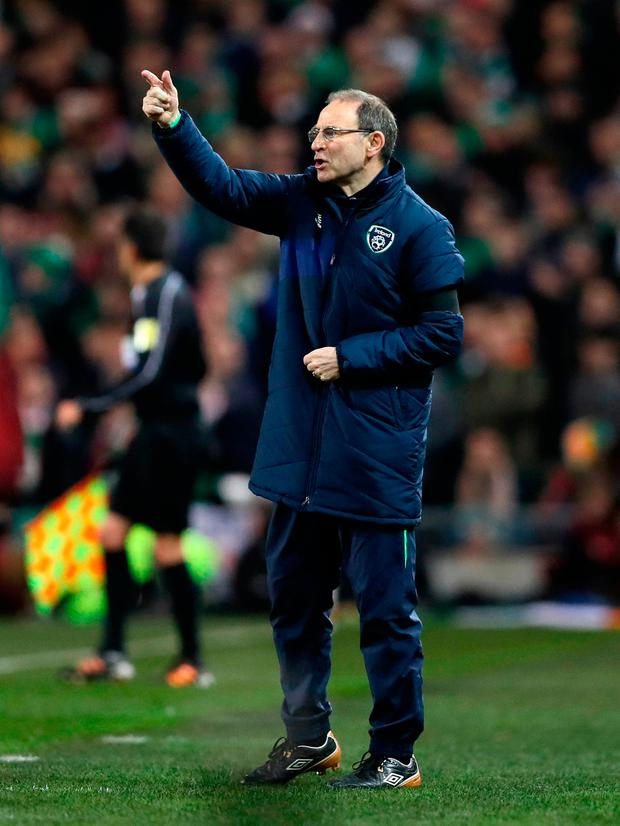 Martin O'Neill doesn't appear to have a working relationship with Everton boss Ronald Koeman. Photo credit: Brian Lawless/PA Wire.