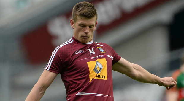 Westmeath's John Heslin in action. Photo: Oliver McVeigh/Sportsfile