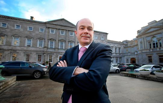 Communications Minister Denis Naughten Picture: Tom Burke