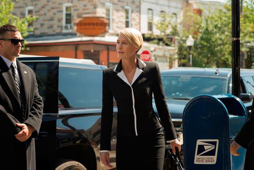 Robin Wright as Claire Underwood in hit Netflix series 'House of Cards'