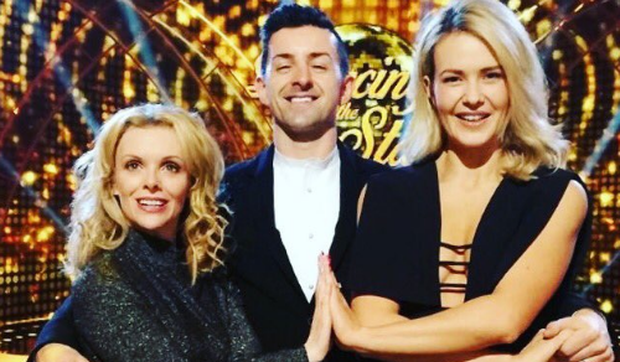 Denise McCormack, Aidan O'Mahony and Aoibhin Garrihy ahead of the final DWTS showdown