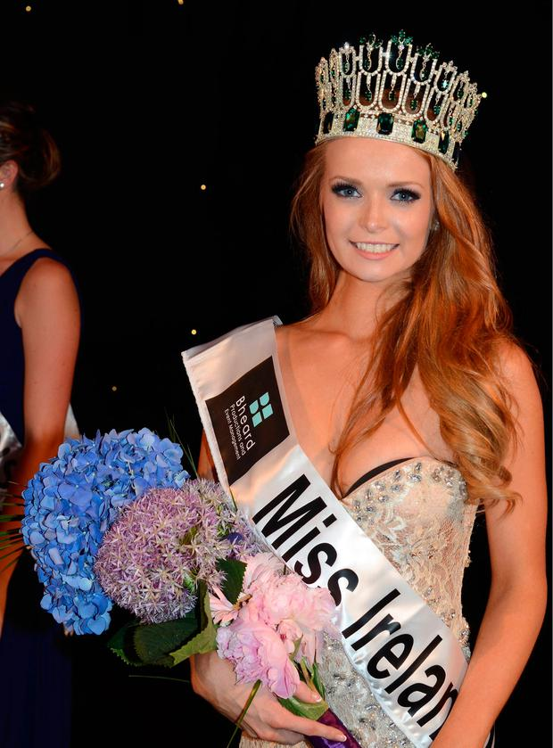 Miss Tipperary Aoife Walsh wins Miss Ireland 2013 finals