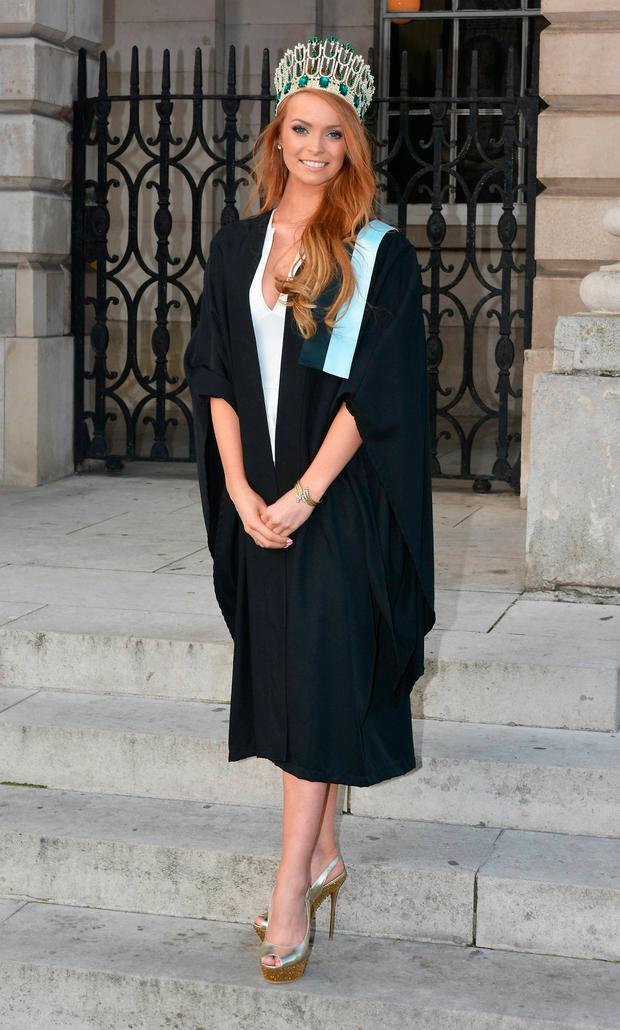 Aoife Walsh graduates from Trinity College with a Post Grad in Education in 2013