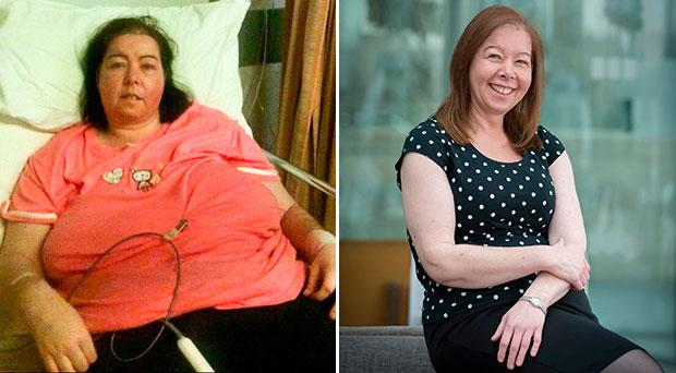 Jackie Nolan (44) has turned her life around and lost 11 stone in weight. Jackie who was once at rock bottom and homeless is loving life and admits that helping others is truly what she does best. Picture Ciara Wilkinson.