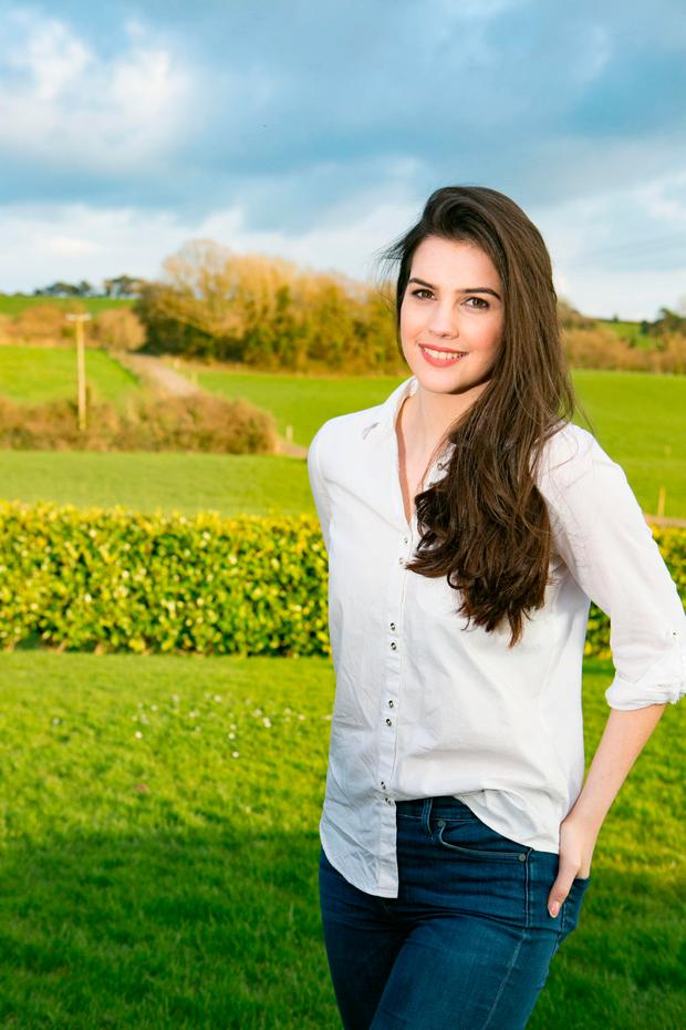 Miss Ireland Niamh Kennedy pictured at home in Portroe Co Tipperary Picture Credit Brian Gavin Press 22