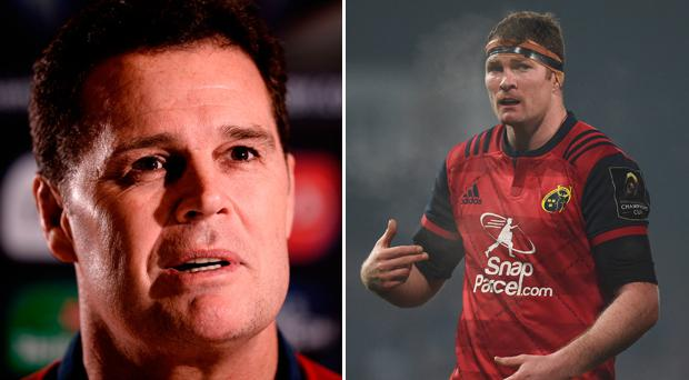 Rassie Erasmus believes Donnacha Ryan will leave Munster at the end of the current campaign