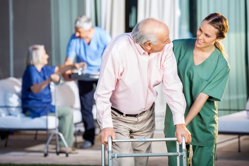 The numbers waiting for the service in Galway, Roscommon and Mayo are also high with 346 elderly and people with a disability in the queue (Stock picture)