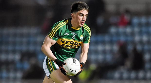 Kerry's Brian Ó Beaglaoích. Photo: Stephen McCarthy / SPORTSFILE