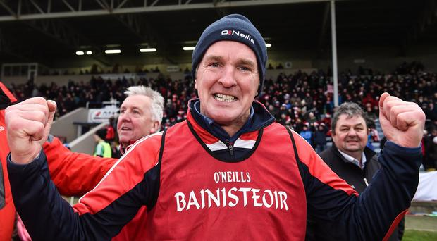 Cuala manager Mattie Kenny. Photo: David Maher/Sportsfile