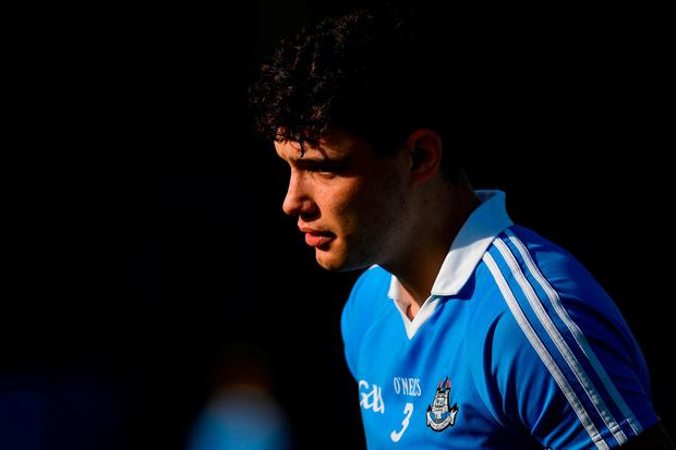 Eoghan O'Donnell has emerged as a full-back of real substance for Dublin in this campaign. Photo: Brendan Moran/Sportsfile