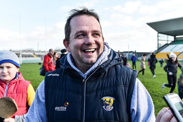 Wexford manager Davy Fitzgerald. Photo: David Maher/Sportsfile