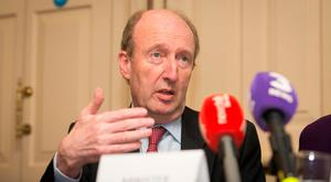Transport Minister Shane Ross has not succumbed to that pressure, suggesting instead that the management and unions should first agree on every reasonable efficiency. Photo: Gareth Chaney / Collins