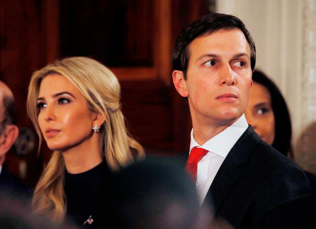 Ivanka Trump and her husband Jared Kushner. Photo: REUTERS