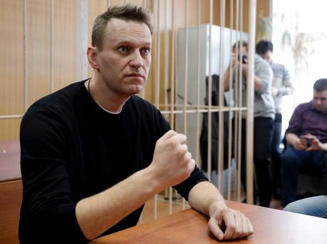 Russian opposition leader Alexei Navalny. Photo: REUTERS/Tatyana Makeyeva