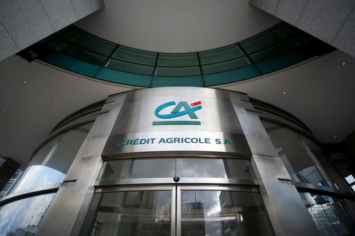 Crédit Agricole paid a tax rate of just 2pc, Oxfam's report said (Stock picture)