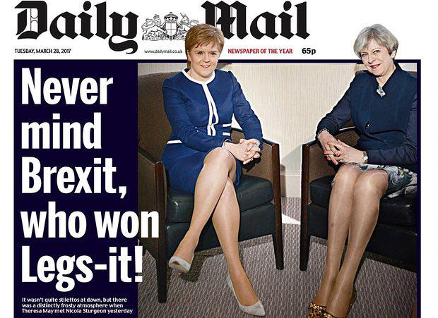 Daily Mail Slammed For 'Sexist, Moronic And Offensive' Headline