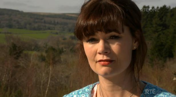 Fair City actress Rachel Pilkington shared her views on veganism on RTE's Claire Byrne Live