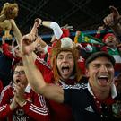 British and Irish Lions fans. Photo: (Steve Christo) (Photo by Steve Christo/Corbis via Getty Images)