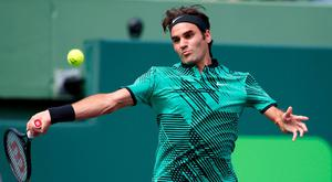 Roger Federer in action at the Miami Open – a tournament which a host of top stars have missed. Photo: Wilfredo Lee/AP Photo
