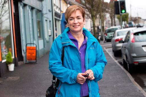 Anne Reilly in Athboy, County Meath. Photo: Tony Gavin