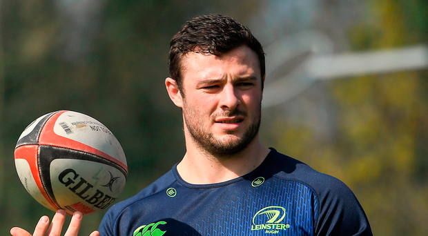 Robbie Henshaw will face off against several of those England players who were beaten by Ireland when Leinster face Wasps on Saturday. Photo: Sportsfile