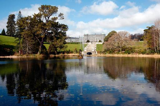 The majestic setting of Powerscourt House. Photo: Fran Veale