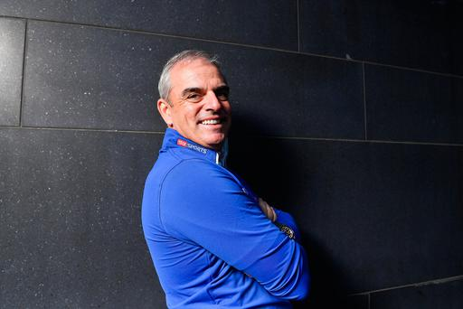 Leader of the gang: Paul McGinley gearing up for Sky Sports' Masters coverage. Photo: Brendan Moran/Sportsfile