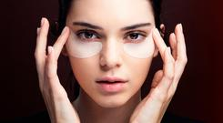 Kendall Jenner, the face of the Estée Lauder stickering campaign